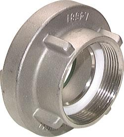 """Übergangsstück Storz C-Stecker 1//2/"""" Gartenkupplung Gardena Aluminium Messing"""