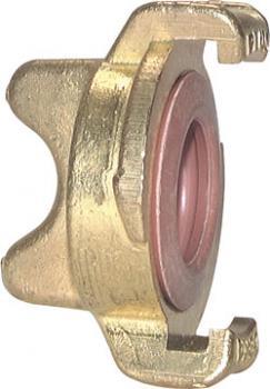 GEKA System - Klauenkupplung für Trinkwasser - Verschlusskupplung - Messing