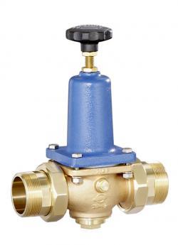 Druckminderer für Wasser und Flüssigkeiten (Membranausführung;Standarddruck) aus Rotguss