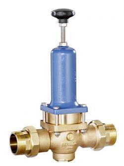 Druckminderer für Wasser und Flüssigkeiten (Hochdruckausführung; Kolbenventil) aus Rotguss
