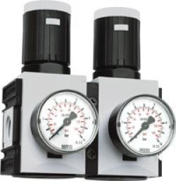 Druckregler Fututra-Baureihe 2 mit durchg. Druckversorgung - bis 5200 l/min