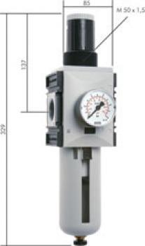 Filterregler Futura-Baureihe 4 - 14500 l/min