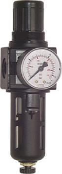 Filterregler - Multifix - Baureihe 1A (mit Schutzkorb) - 3000 l/min