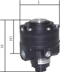 Präzisions-Feindruckregler - ferngesteuert (Volumenbooster)