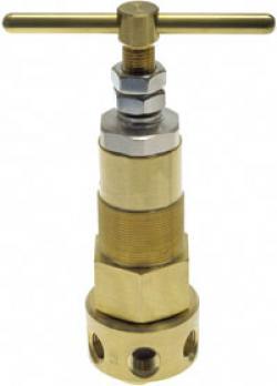 Hochdruck-Membran-Druckregler für Gase - Edelstahl oder Messing  - bis 345 bar
