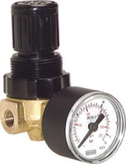 Druckregler - Mini für Luft und Wasser - 340 l/min