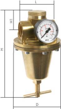 Wasserdruckregler für hohe Drücke -bis 40 bar