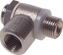 Zu- und Abluft Drosselventile - Typ C - mit Schlitzschraube
